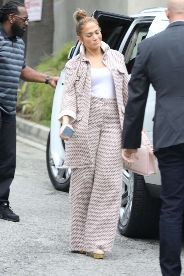 Jennifer Lopez: Arriving for a business meeting in LA -05