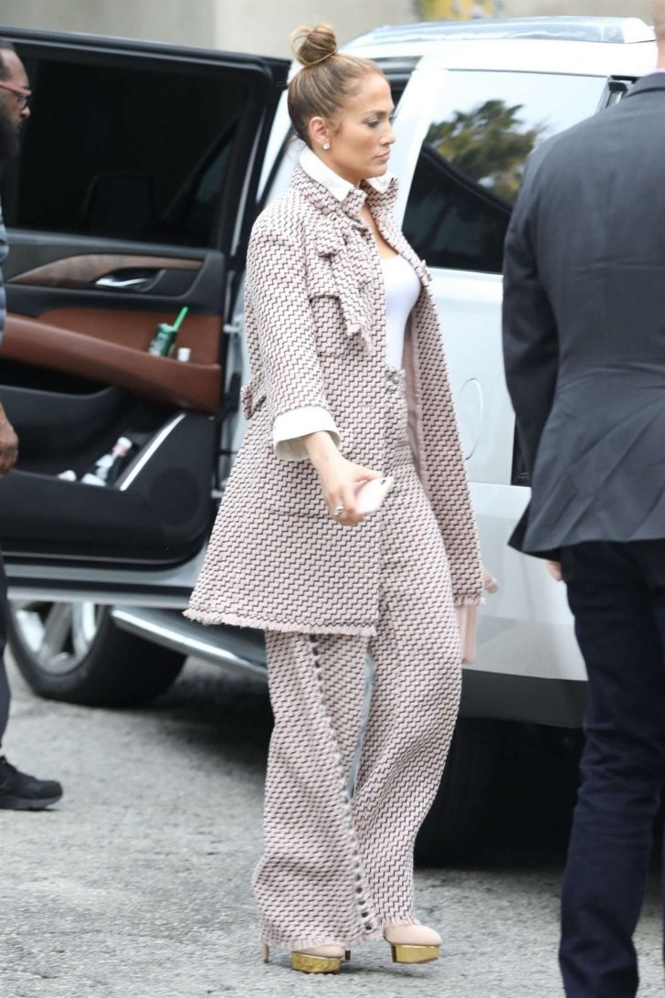 Jennifer Lopez: Arriving for a business meeting in LA -07