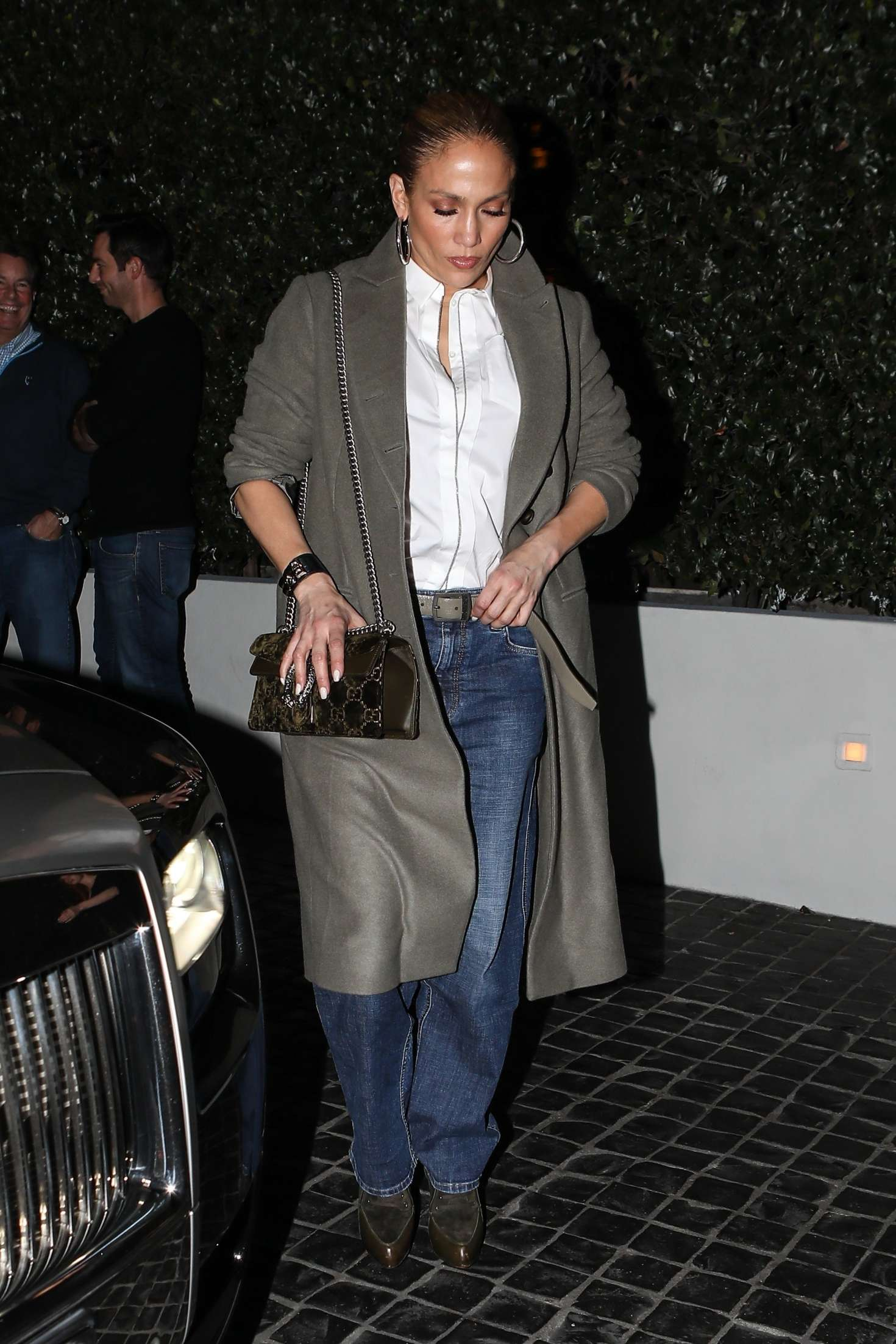 Jennifer Lopez at Cecconi's restaurant in West Hollywood