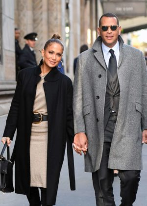 Jennifer Lopez at Cipriani midtown in New York
