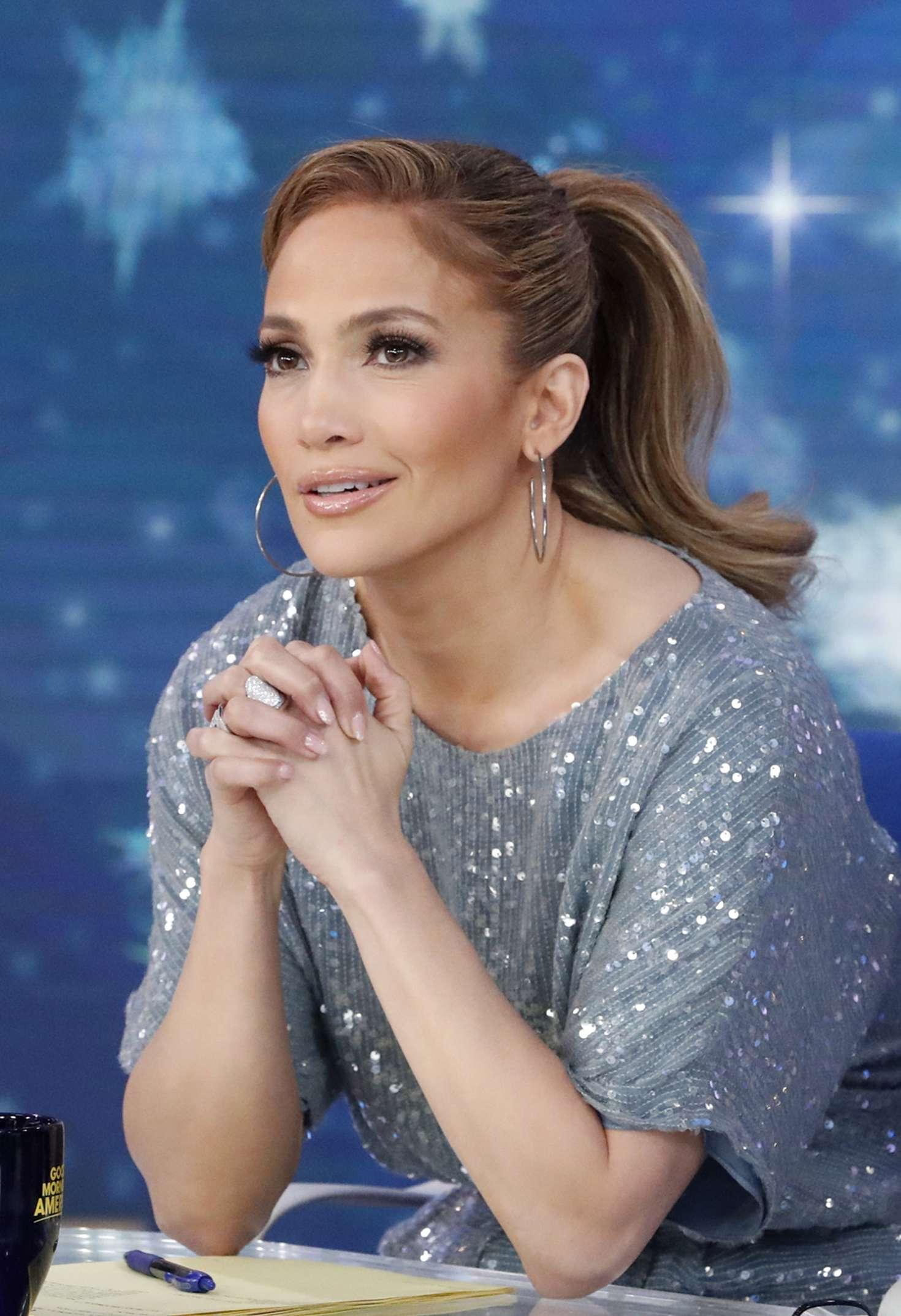 Jennifer Lopez 2018 : Jennifer Lopez at Good Morning America -09