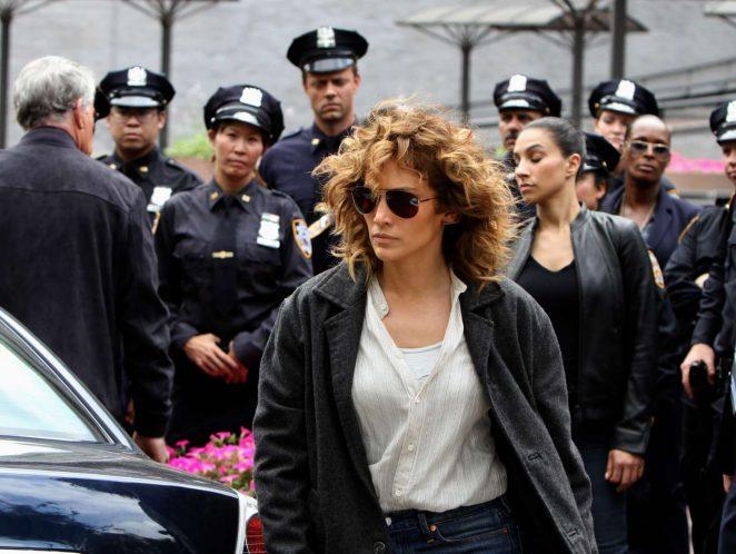 Jennifer Lopez 2017 : Jennifer Lopez at the Shades of Blue set -10