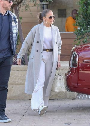 Jennifer Lopez at the Soho House in Malibu