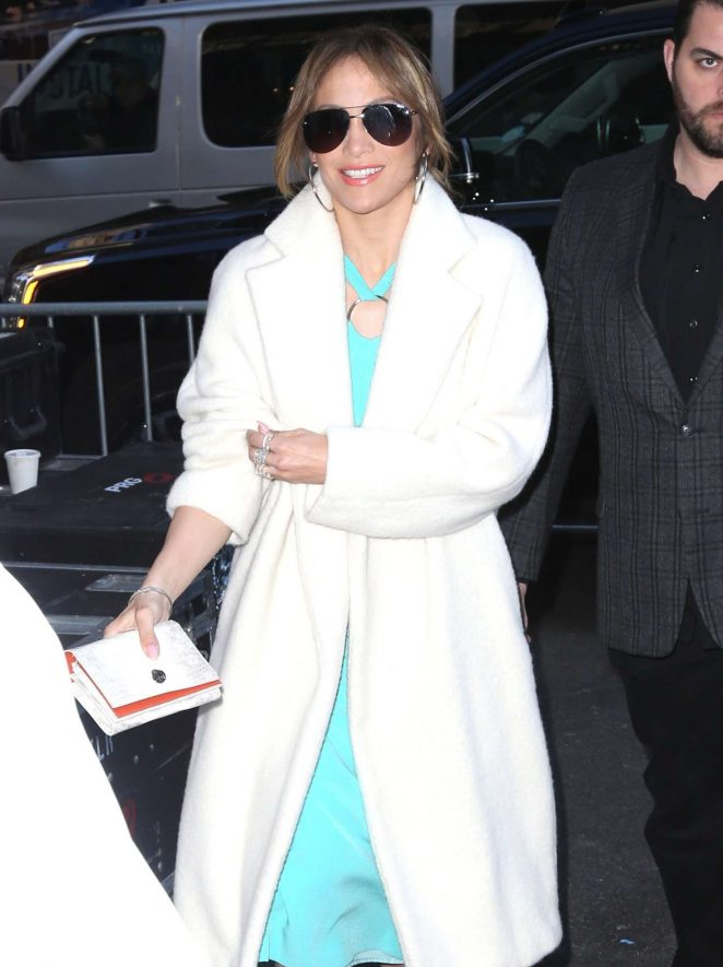 Jennifer Lopez at 'The Today Show' in New York