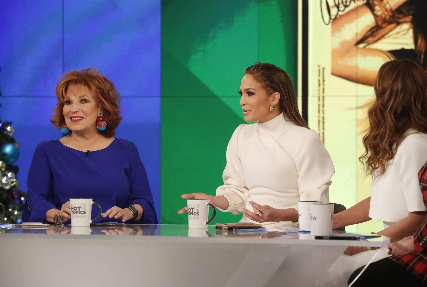 Jennifer Lopez 2018 : Jennifer Lopez at The View -02