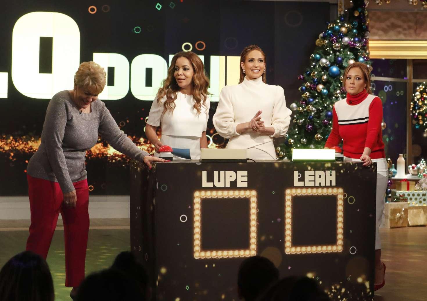 Jennifer Lopez 2018 : Jennifer Lopez at The View -04