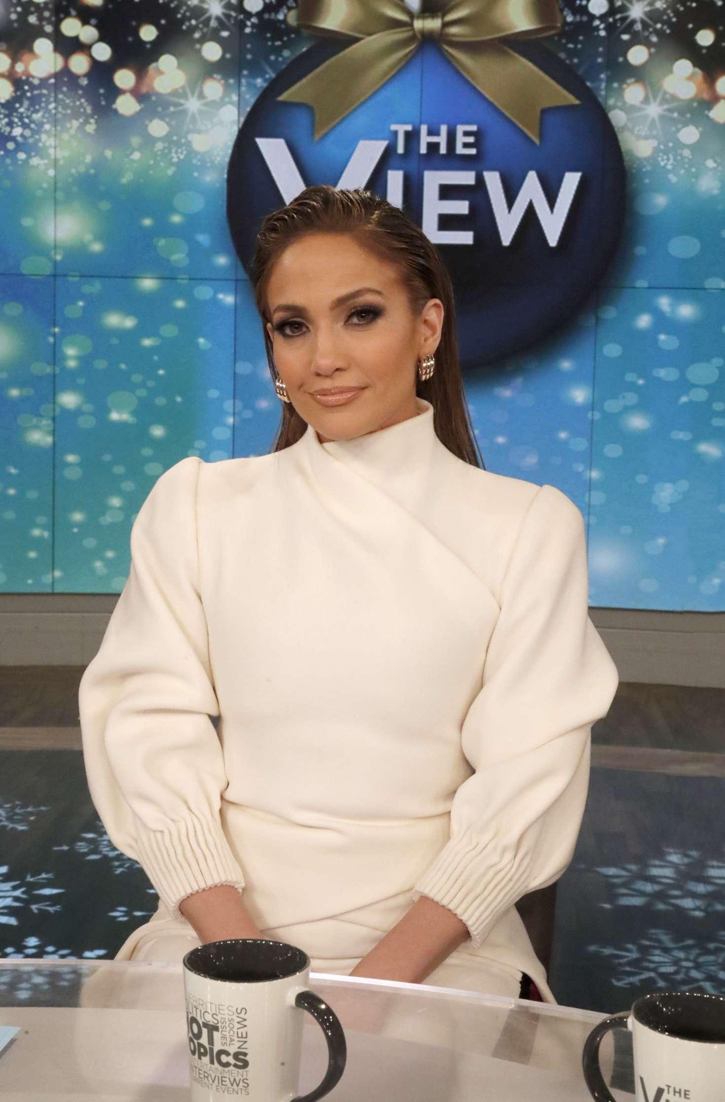 Jennifer Lopez 2018 : Jennifer Lopez at The View -05