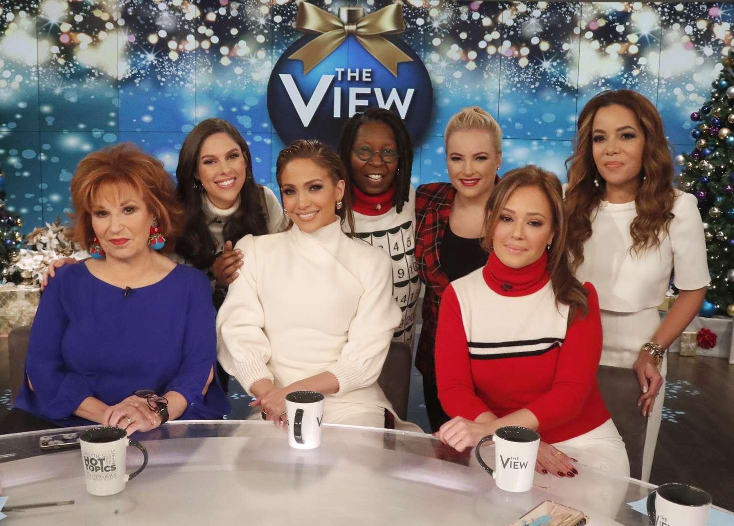 Jennifer Lopez 2018 : Jennifer Lopez at The View -08
