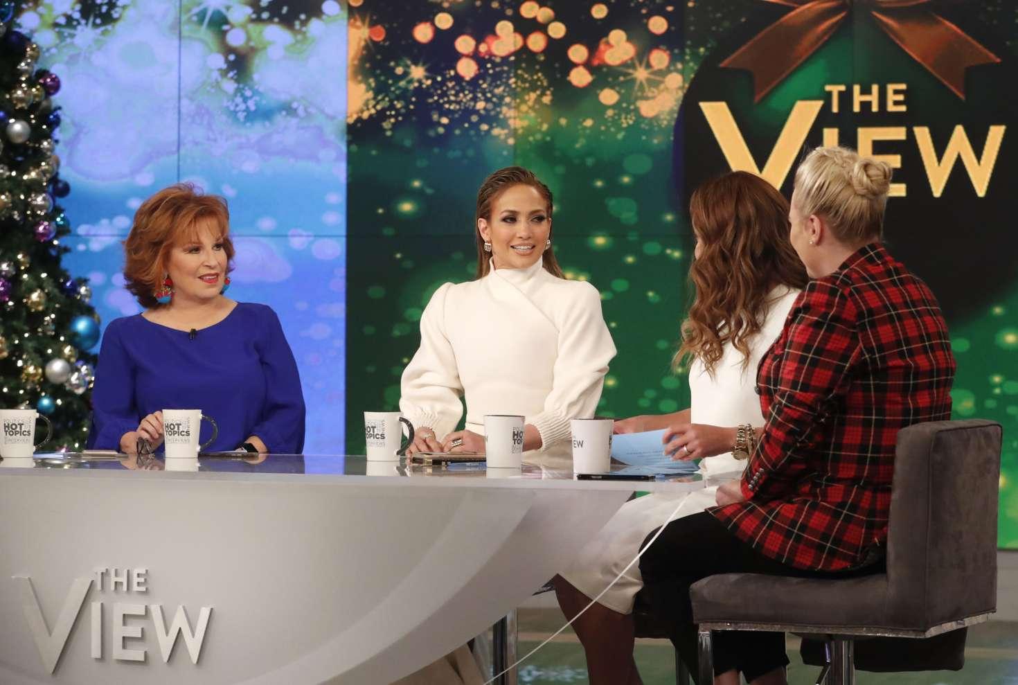 Jennifer Lopez 2018 : Jennifer Lopez at The View -09