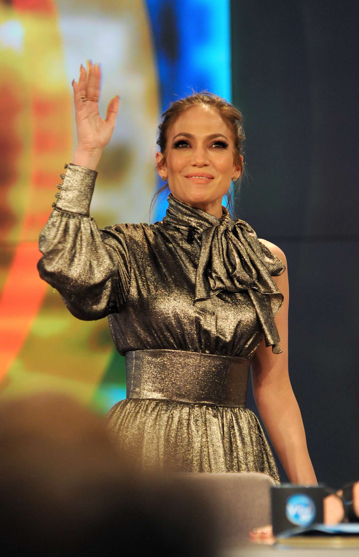 Jennifer Lopez at 'The View' TV show in New York