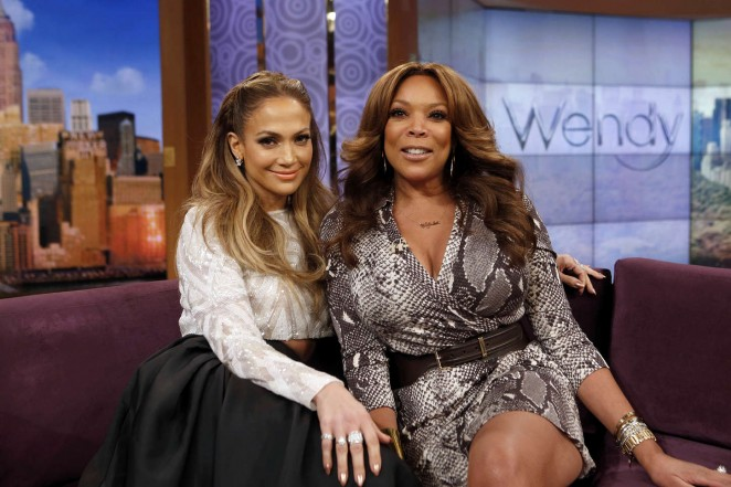 "Jennifer Lopez at ""Wendy Williams Show"" in New York"