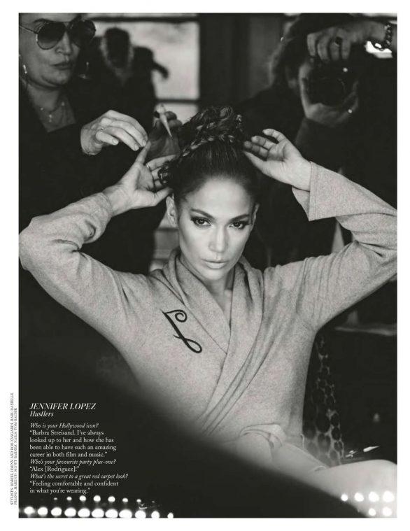 Jennifer Lopez - British Vogue Magazine (February 2020)
