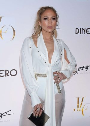Jennifer Lopez - Celebrates Release of New Single 'Dinero' in Las Vegas