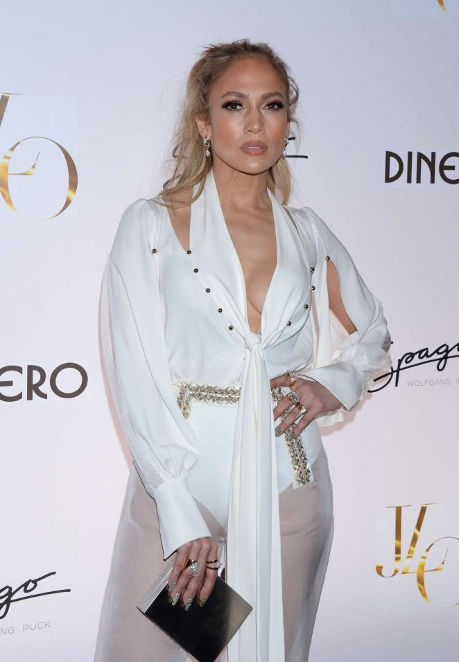 Jennifer Lopez - Celebrates Release of New Single 'Dinero' in Las Vegas