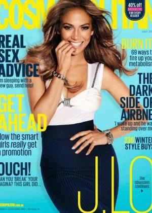 Jennifer Lopez: Cosmopolitan Australia 2016 -03