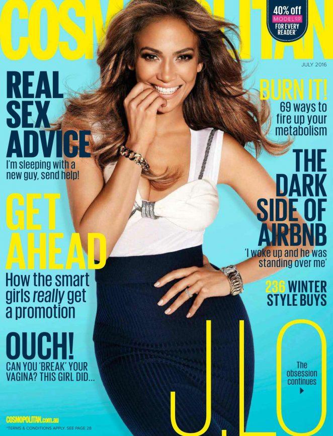 Jennifer Lopez 2016 : Jennifer Lopez: Cosmopolitan Australia 2016 -03