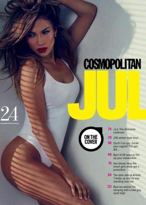 Jennifer Lopez - Cosmopolitan Australia Magazine (July 2016)