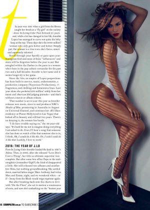 Jennifer Lopez: Cosmopolitan Australia 2016 -05