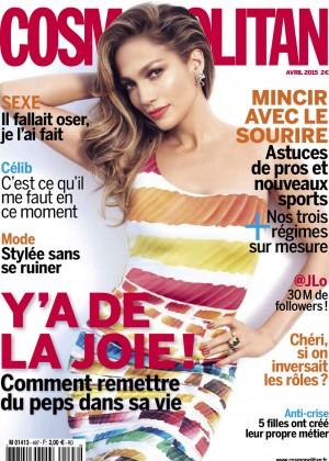 Jennifer Lopez - Cosmopolitan France Magazine (April 2015)