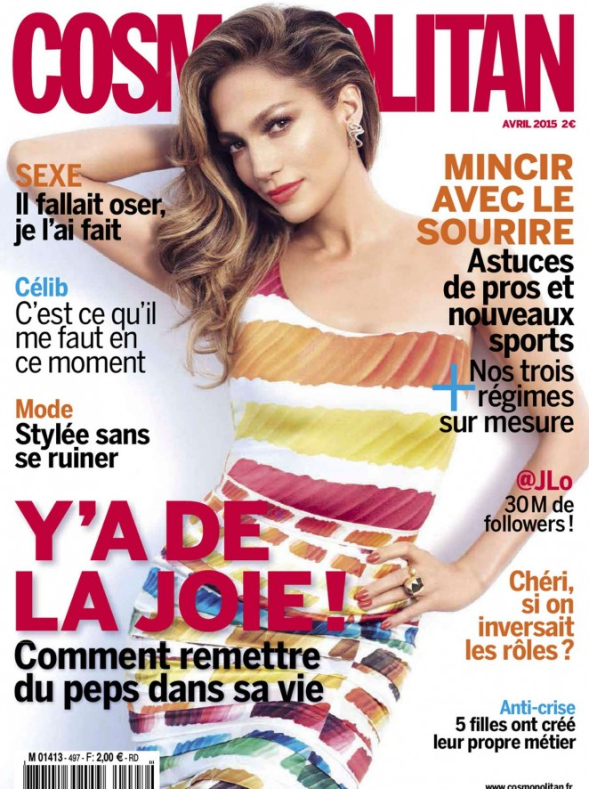 Jennifer Lopez – Cosmopolitan France Magazine (April 2015)