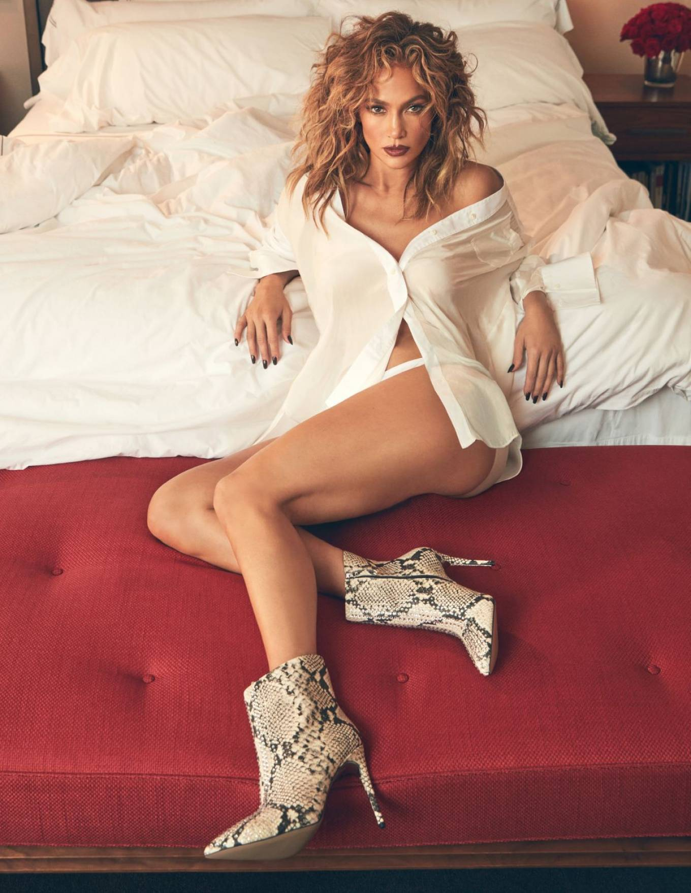 Jennifer Lopez - DSW photoshoot