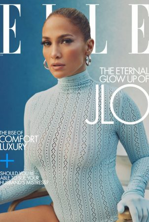 Jennifer Lopez - Elle by Micaiah Carter (February 2021)