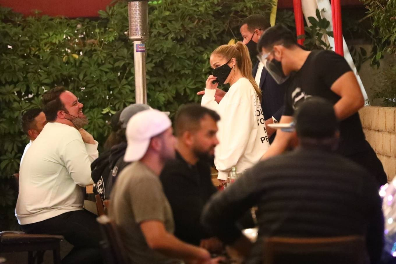 Jennifer Lopez 2020 : Jennifer Lopez – Exit after dinner at Matsuhisa in Beverly Hills-05