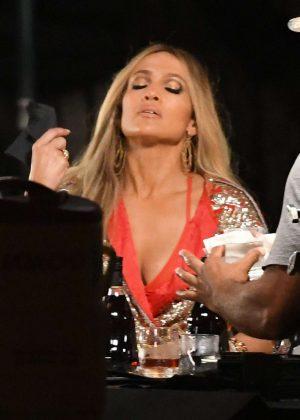 Jennifer Lopez - Filming 'Ni Tu Ni Yo' Music Video in Islamorada
