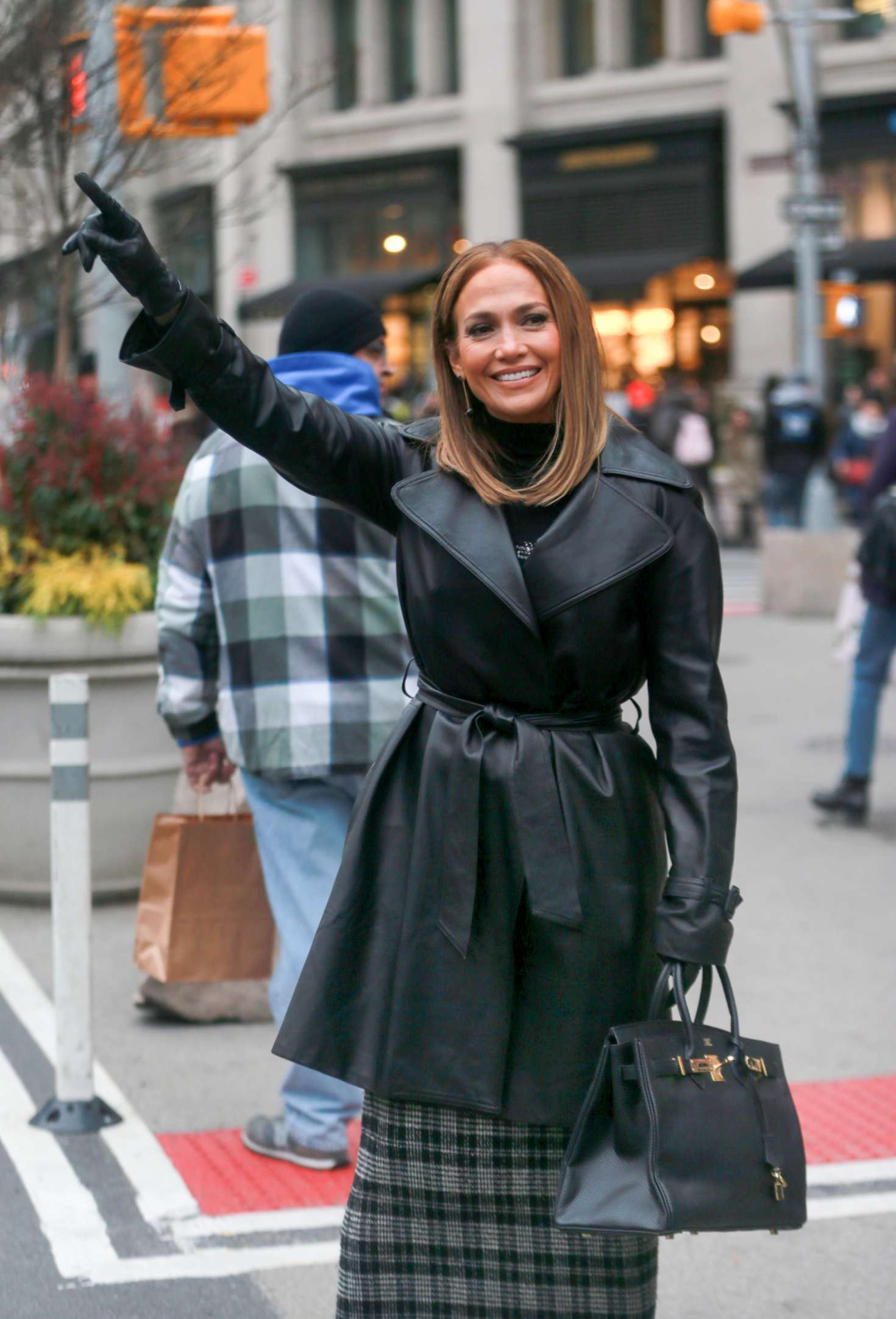 Jennifer Lopez – Filming 'Second Act' in NYC | GotCeleb