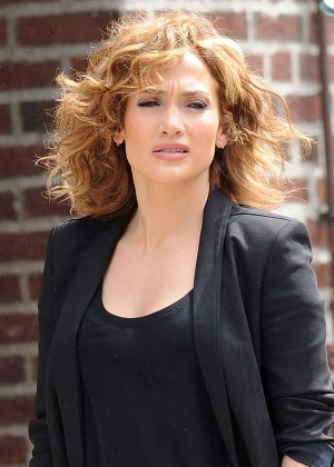 Jennifer Lopez - Filming 'Shades of Blue' in NY