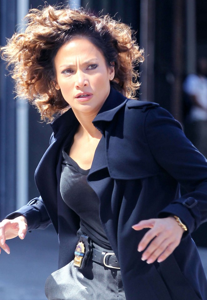 Jennifer Lopez – Filming 'Shades Of Blue' in NYC