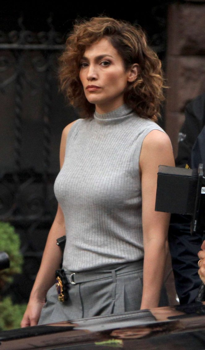 Jennifer Lopez: Filming Shades of Blue -01