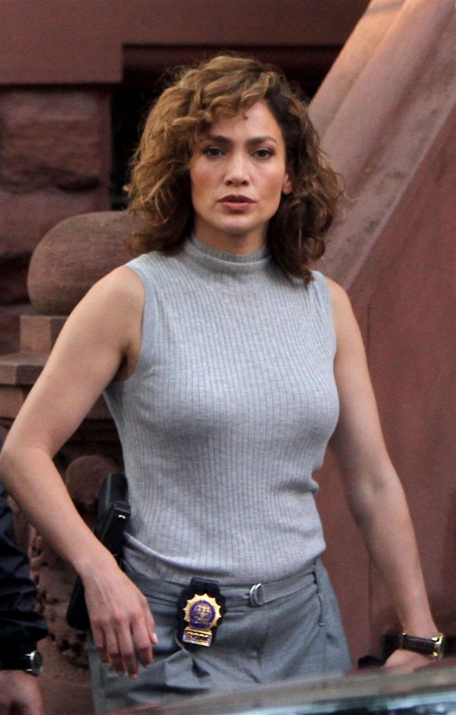 Jennifer Lopez - Filming 'Shades of Blue' in Washington