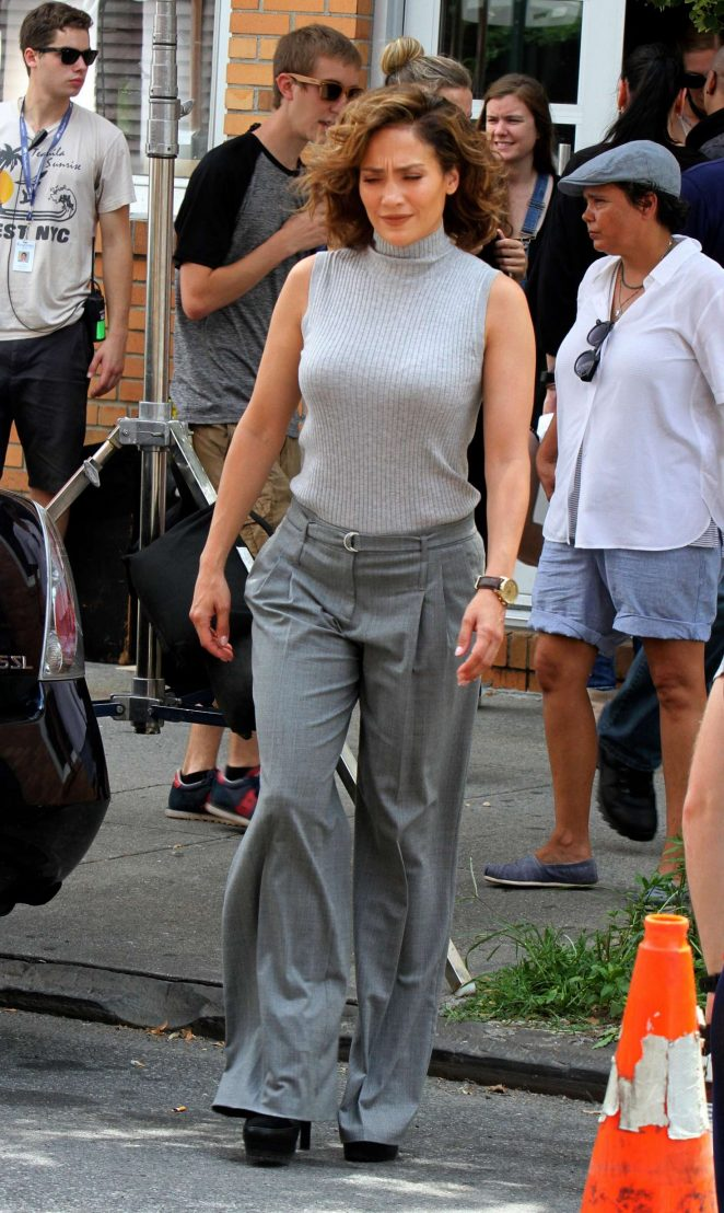 Jennifer Lopez: Filming Shades of Blue -04