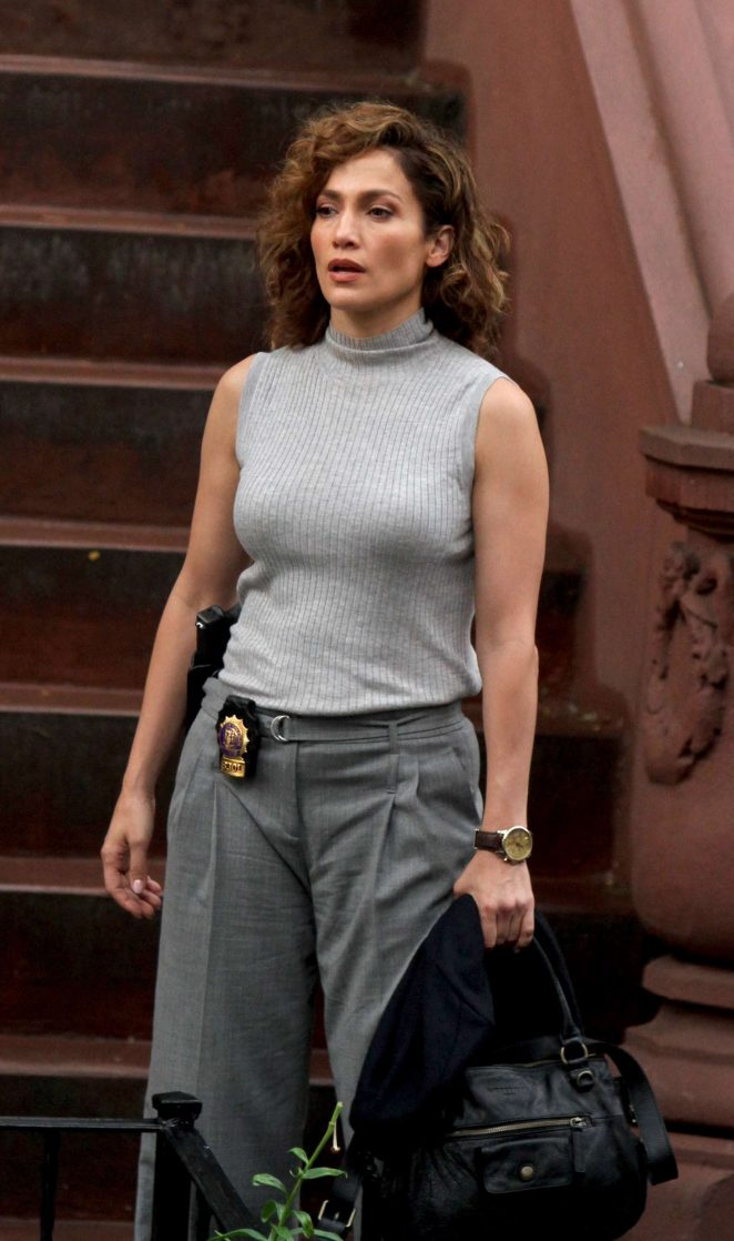 Jennifer Lopez: Filming Shades of Blue -07
