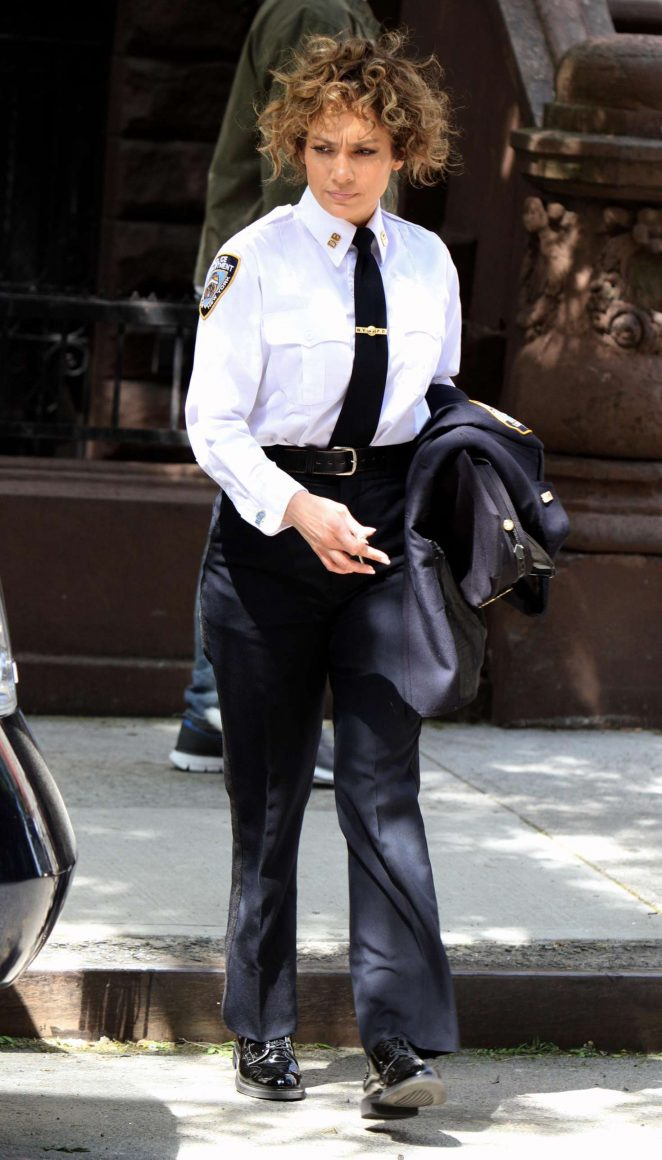 Jennifer Lopez Filming 'Shades of Blue' set in New York City
