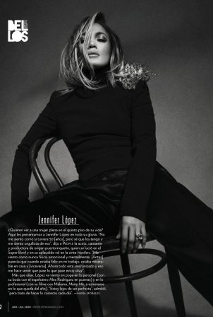 Jennifer Lopez for People en Espanol (June 2020)