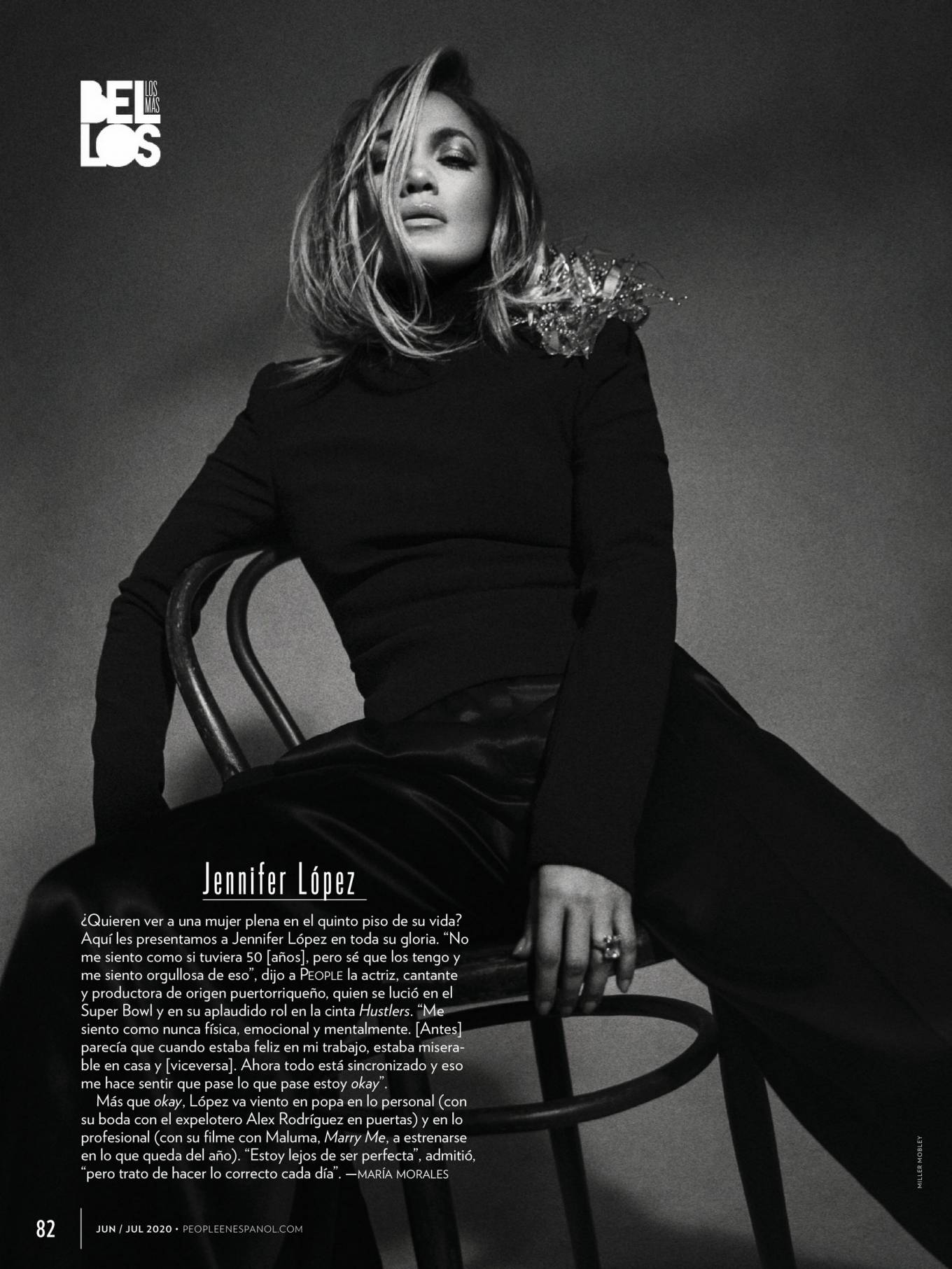 Jennifer Lopez for People en Espanol (June 2020)