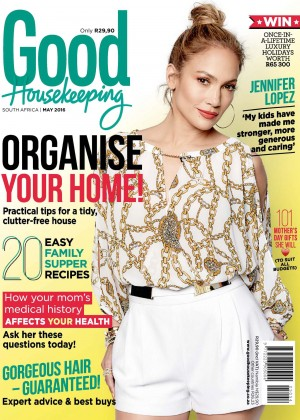 Jennifer Lopez - Good Housekeeping South Africa (May 2016)