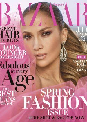 Jennifer Lopez - Harper's Bazaar US Magazine (April 2018)