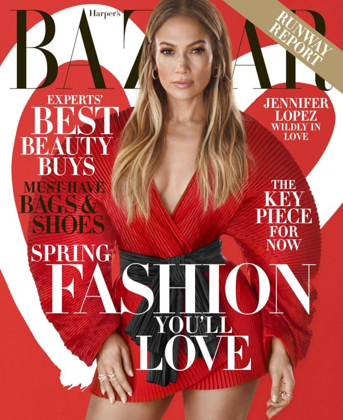 Jennifer Lopez – Harper's Bazaar US Magazine (February 2019)