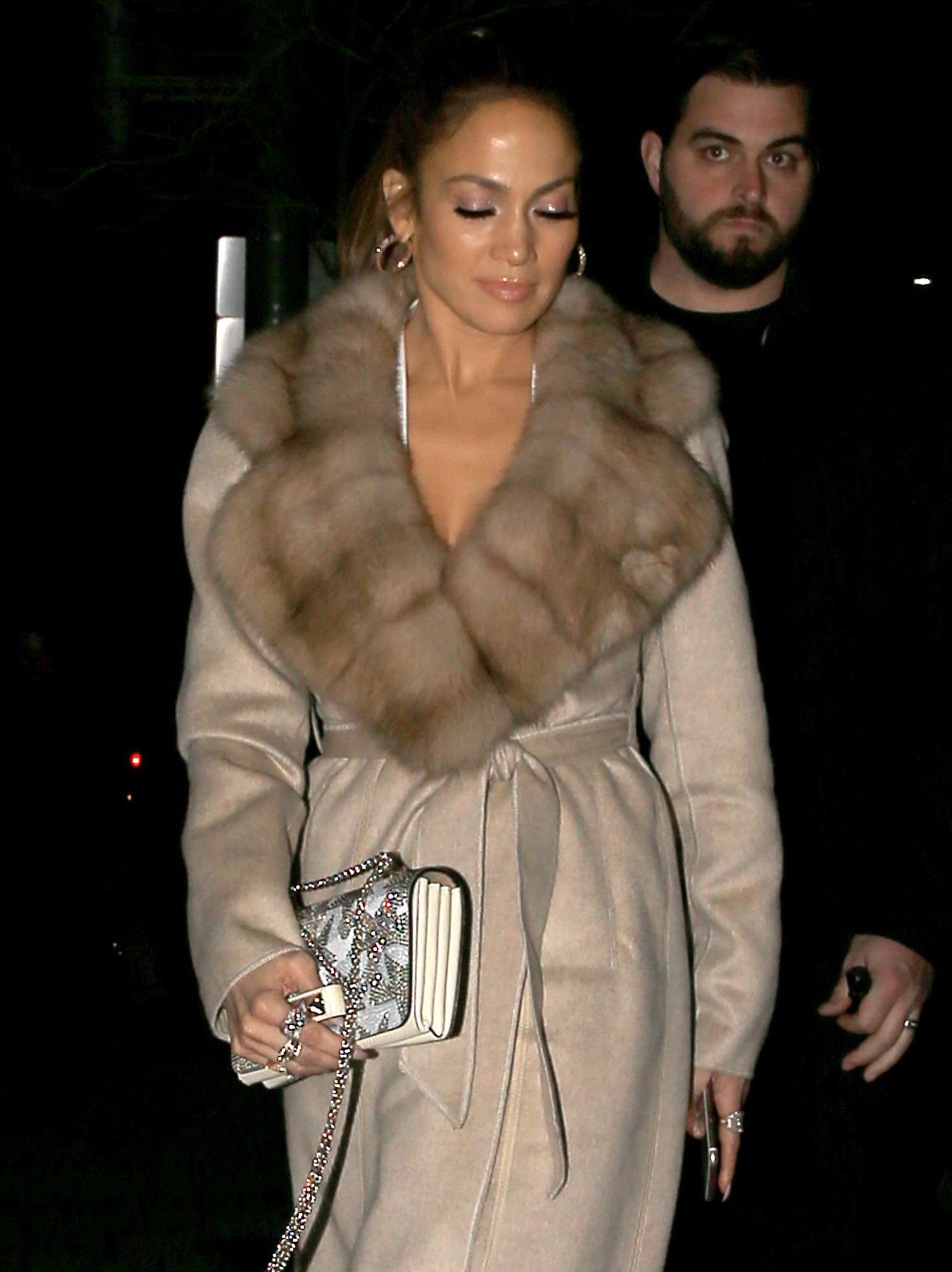 Jennifer Lopez - Headed to Neiman Marcus in West Hollywood