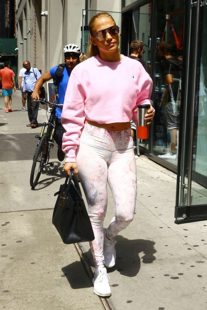 Jennifer Lopez – Heading to rehearsals in New York City