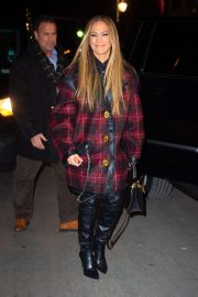 Jennifer Lopez - Heading to the SNL cast dinner in New York