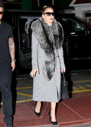 Jennifer Lopez heads to Chelsea Piers in New York City