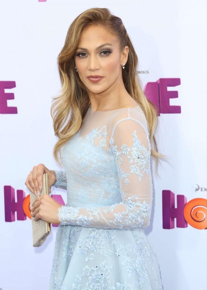 """Jennifer Lopez – """"Home"""" Premiere in Westwood"""