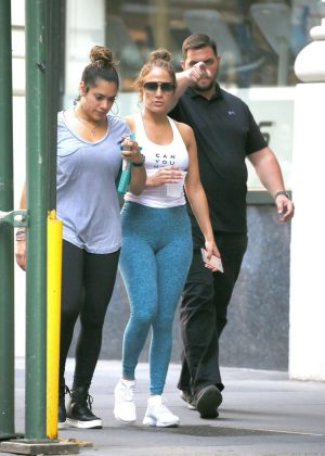 Jennifer Lopez - Hot in Tights in Los Angeles