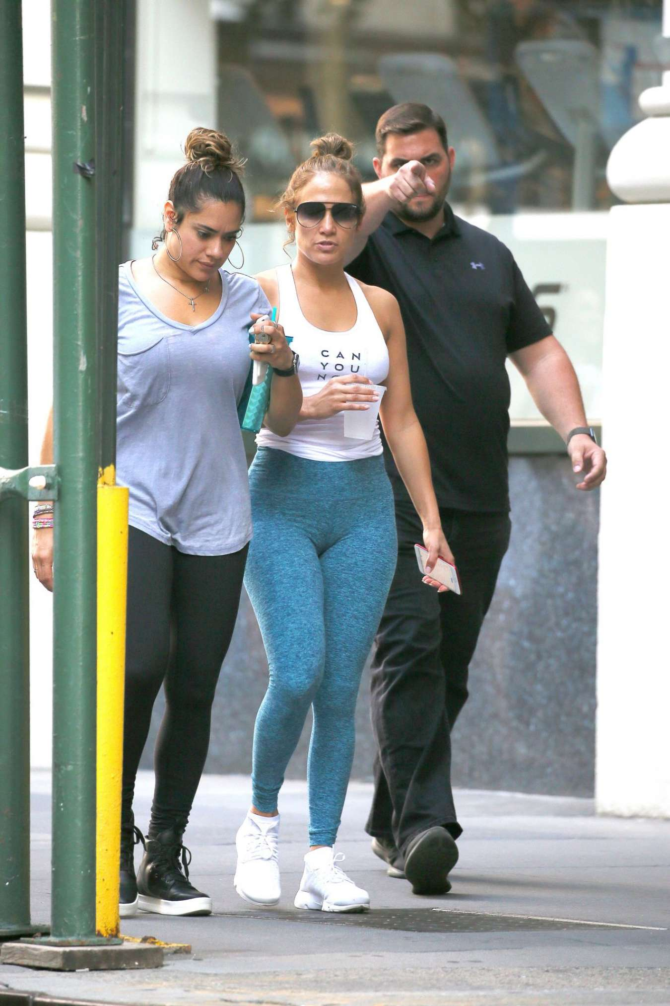 Jennifer Lopez - Hot in Tights in Los Angeles