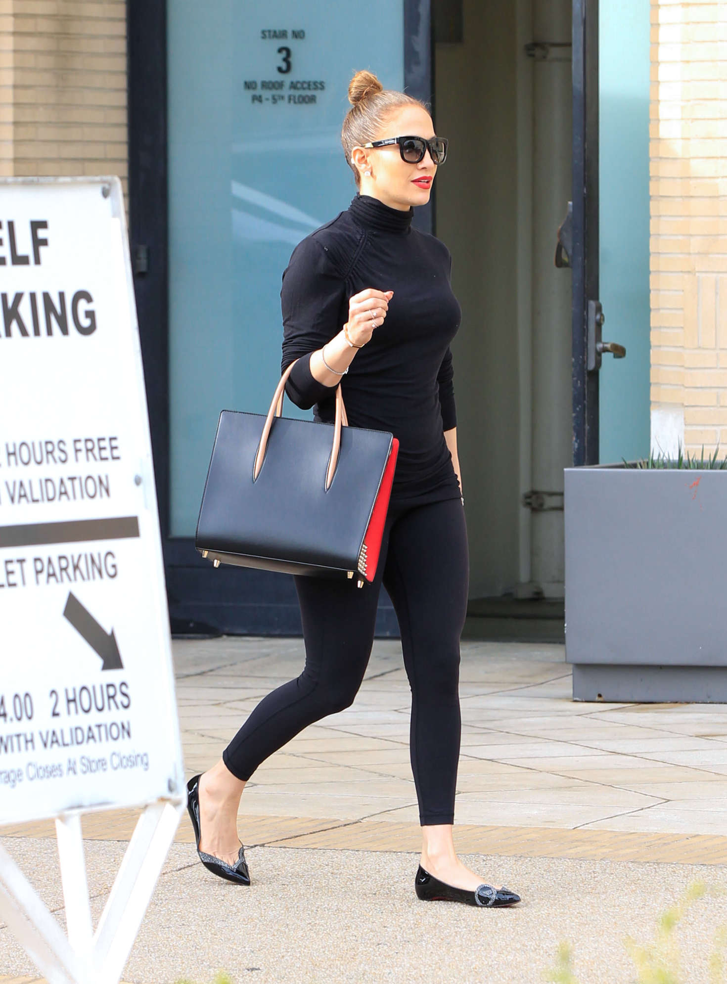 Jennifer Lopez i Tights out in Los Angeles