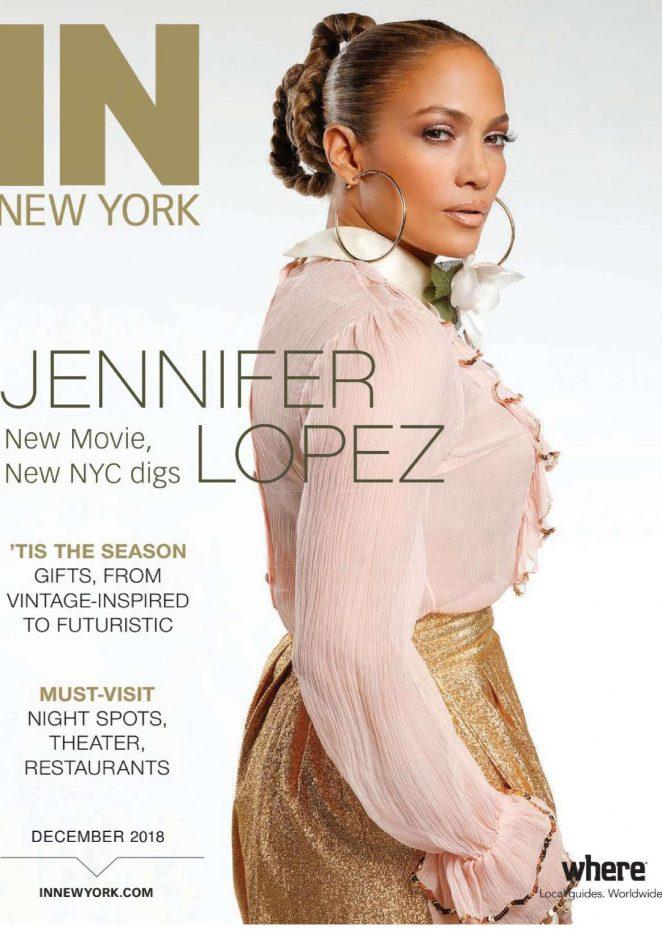 Jennifer Lopez - IN New York Magazine (December 2018)